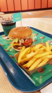 Vedang Kantini Veggie Burger Menü