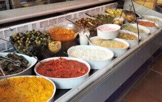 Teil 2 der Speisenauswahl Mezem Catering