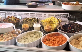 Teil 3 der Speisenauswahl Mezem Catering