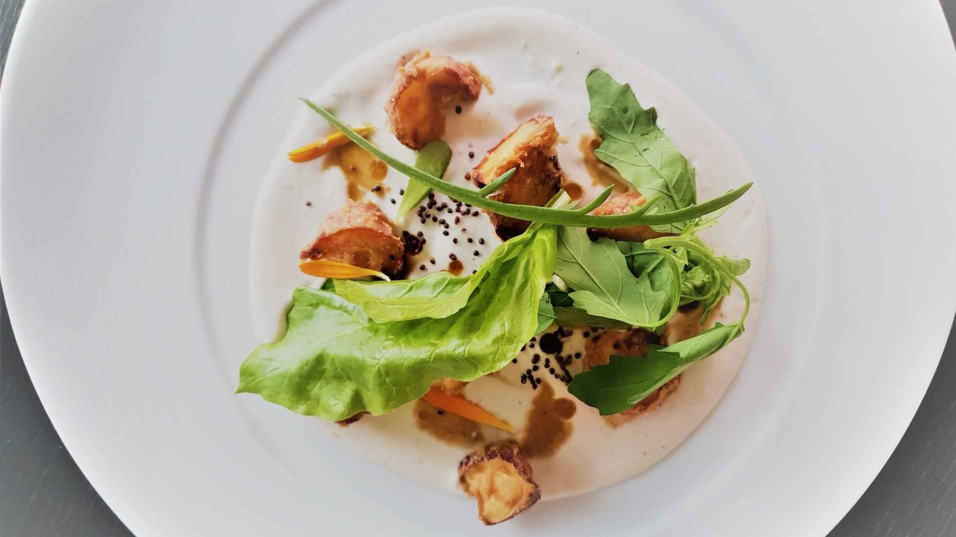 Spargel Dinner Bei Boris Lauser erster Gang