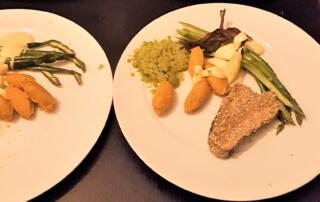Spargel Dinner bei Boris Lauser vierter Gang