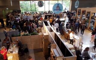 Blick über Stände House of Food Berlin Food Week 2018