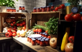 Organic Tomato Ketchup von Curtice Brothers