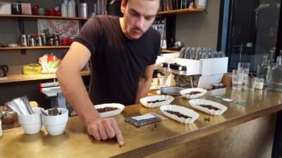 Espresso Workshop mit Philipp Reichel vom Kaffee 9