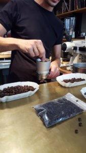 Kaffee 9 Espresso Workshop Mahlgut