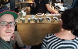 Selfie vom Espresso Workshop