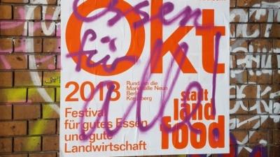 Stadt Land Food Plakat 2018