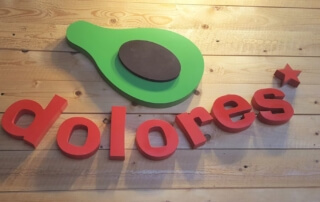 Dolores Burritos Logo