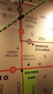 Dolores Tapete - Mission Dolores