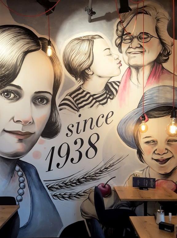 Gotthardt's Bakery Familien Porträts