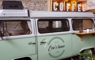 The Green Markte Winteredition 2017 Kaffee Bulli