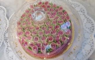 The Green Market rohvegane Torte