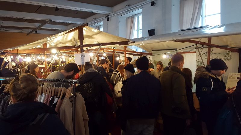 The Green Market 2018 Markthalle