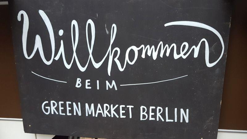 Willkommen beim Green Market Berlin