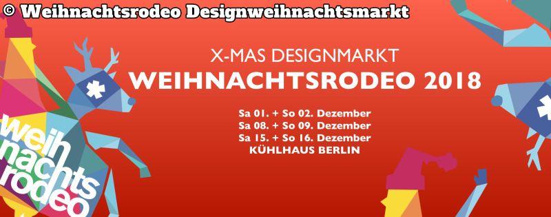 Weihnachtsrodeo Desighnweihnachtsmarkt 2018