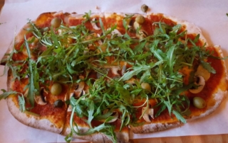 Art & Pizza die Pizza