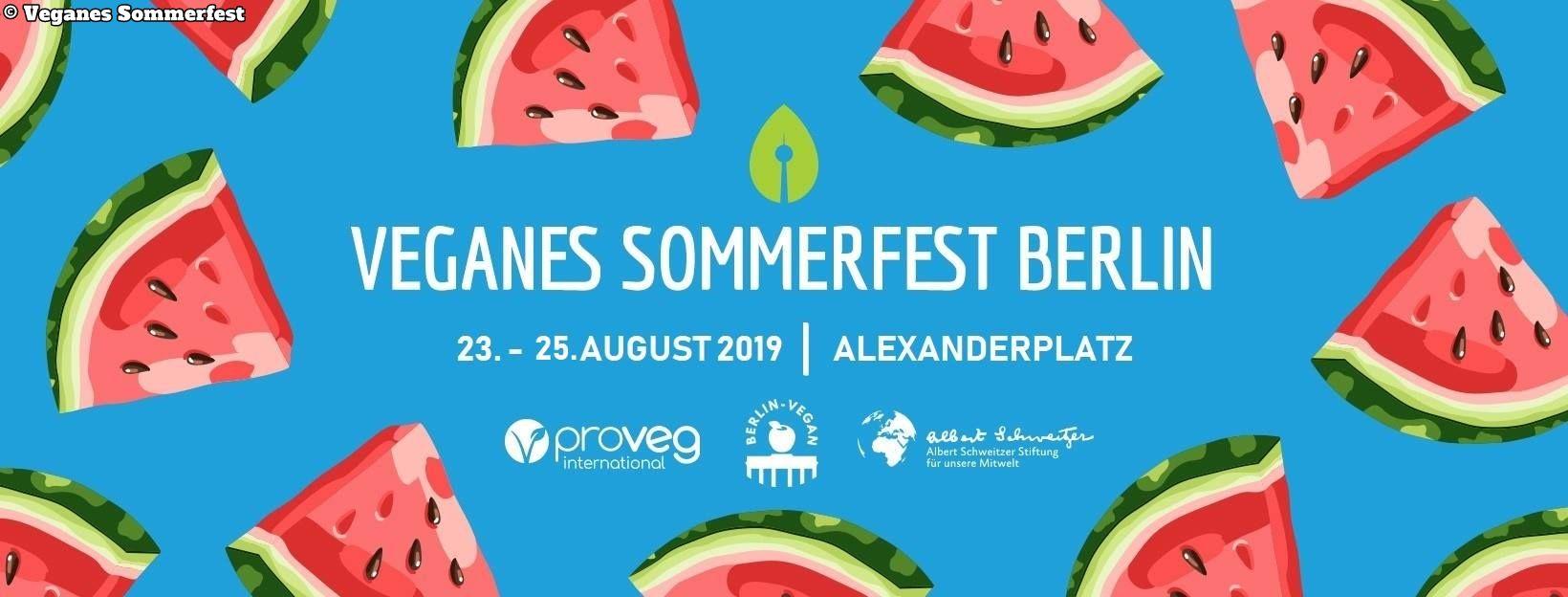 Veganes Sommer Fest Berlin 2019