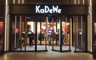 KaDeWe Haupteingang