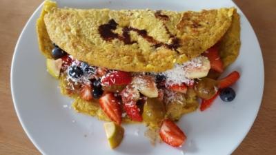 Alge Heidelberg glutenfreier Pfannkuchen