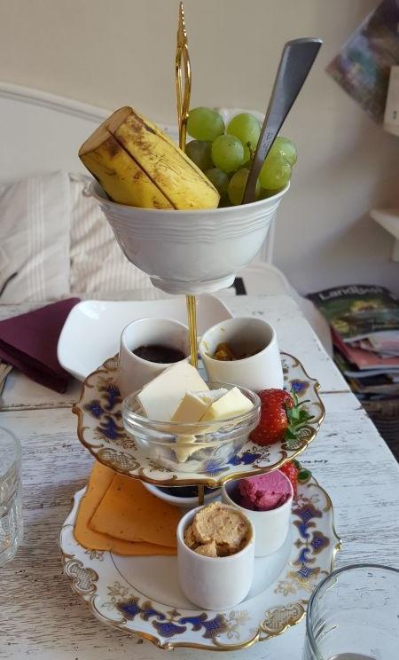 Café Wohntraum vegan breakfast
