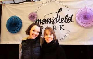 Mansfield Park aufgenommen am Breakfast Market in der Markthalle Neun in Kreuzberg