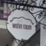 Cafe Wohntraum Schild