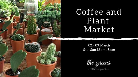 Coffee and Plant Market. The Greens Berlin.
