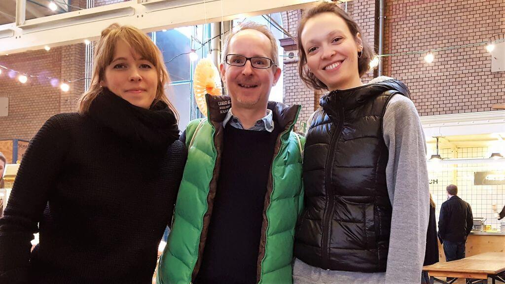 An meiner Seite die beiden Mädels von Mansfield Park, Gabrielle und Angelina