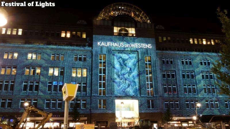 KaDeWe Festival of Lights