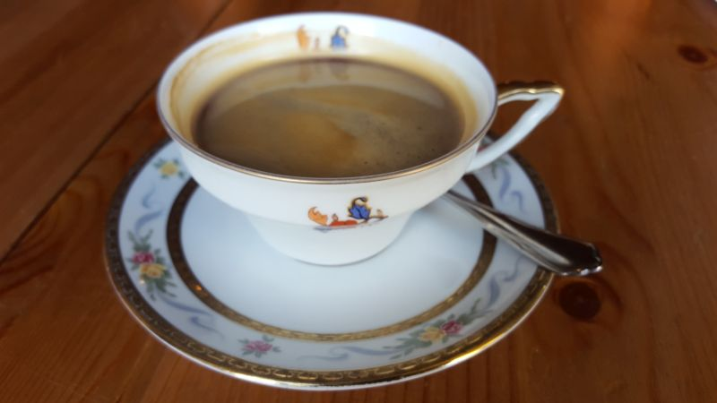 Zimt & Zucker Schiffbauerdamm Tasse Kaffee / cup of coffee