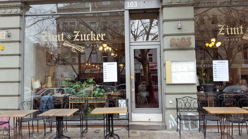 Zimt & Zucker Potsdamer Strasse aussen / from outside