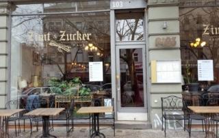 Zimt & Zucker Potsdamer Strasse aussen / from outside