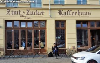 Zimt & Zucker Schiffbauerdamm von außen / from outside