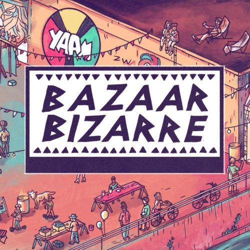 Bazaar-Bizarre im YAAM. An einem Sonntag im Monat.