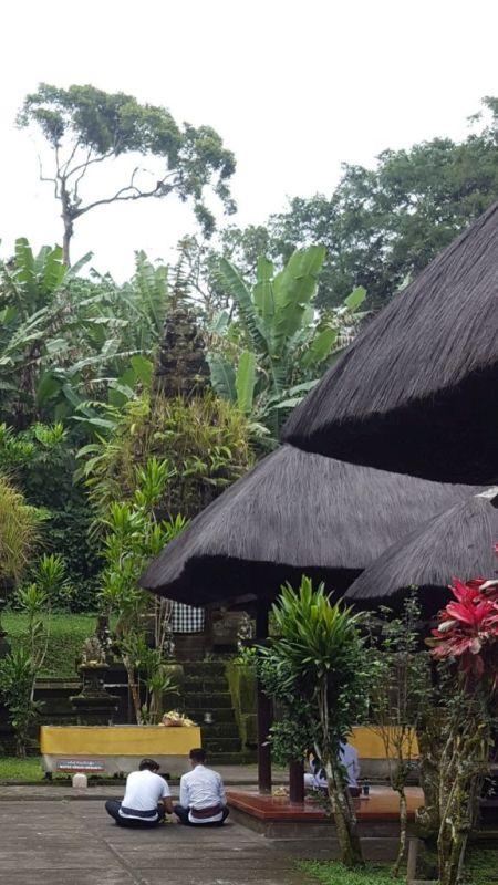 Pura Luhur Batukaru temple at the slop of Batukaru the second highest mountain in Bali.