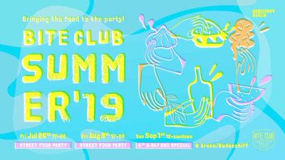 Bite Club Summer 2019 Einladung/Invitation