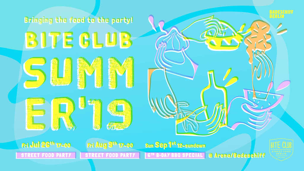 Bite Club Summer 2019 Einladung/Invitation
