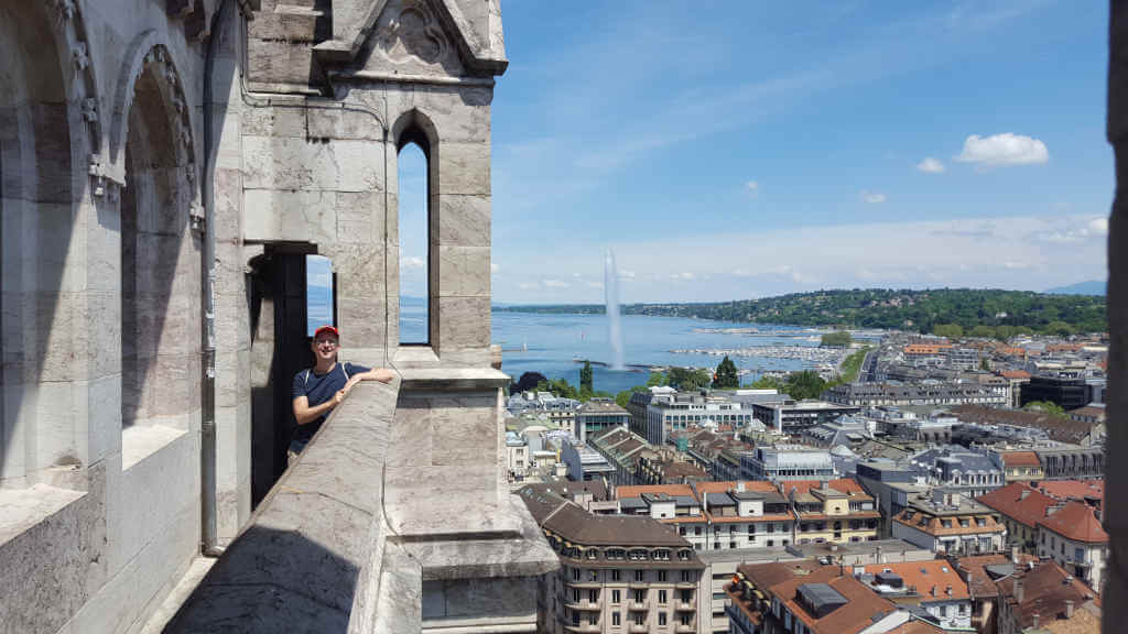 View from Saint-Pierre cathedrale