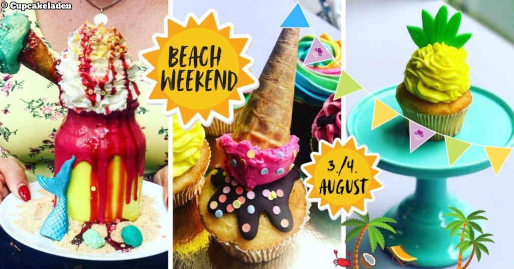 Cupcakeladen Beach Weekend. Event Pic.