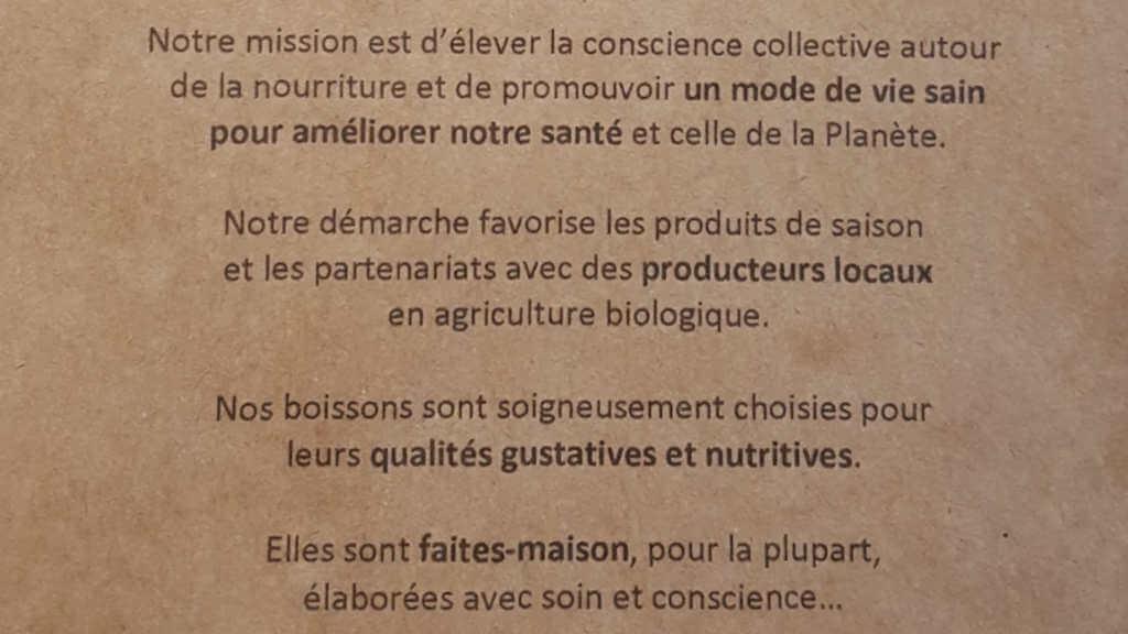 Veganer und Nichtveganer gehen in Genf essen. Ou bien encore Mission.