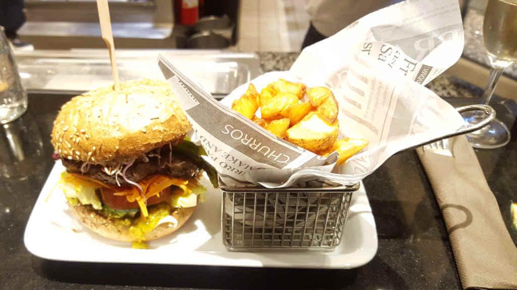 Steak Frites Burger KaDeWe - Burger Special Berlin
