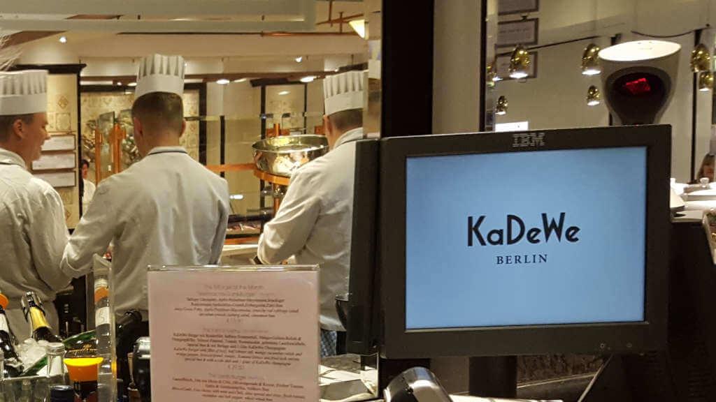 New Burger KaDeWe Köche - Burger Special Berlin