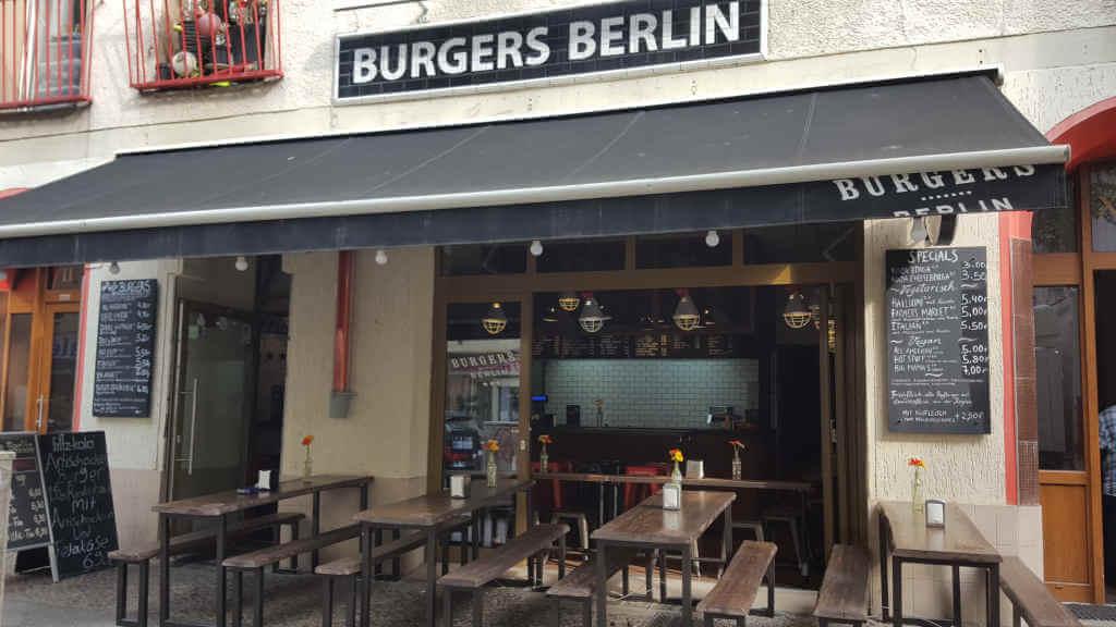 Burgers Berlin front view - Burger Special Berlin