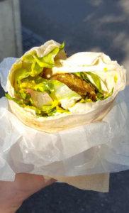 Falafel im Brot Za Zaa - Basel für Veganer und Nichtveganer