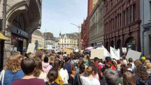 Fridays for future demo Basel - Basel für Veganer und Nichtveganer