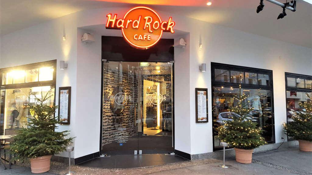 Hard Rock Cafe Berlin Entrance - Burger Special Berlin