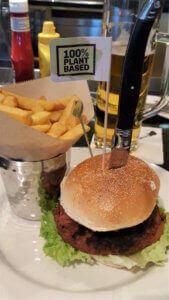 Hard Rock Cafe Moving Mountains Burger