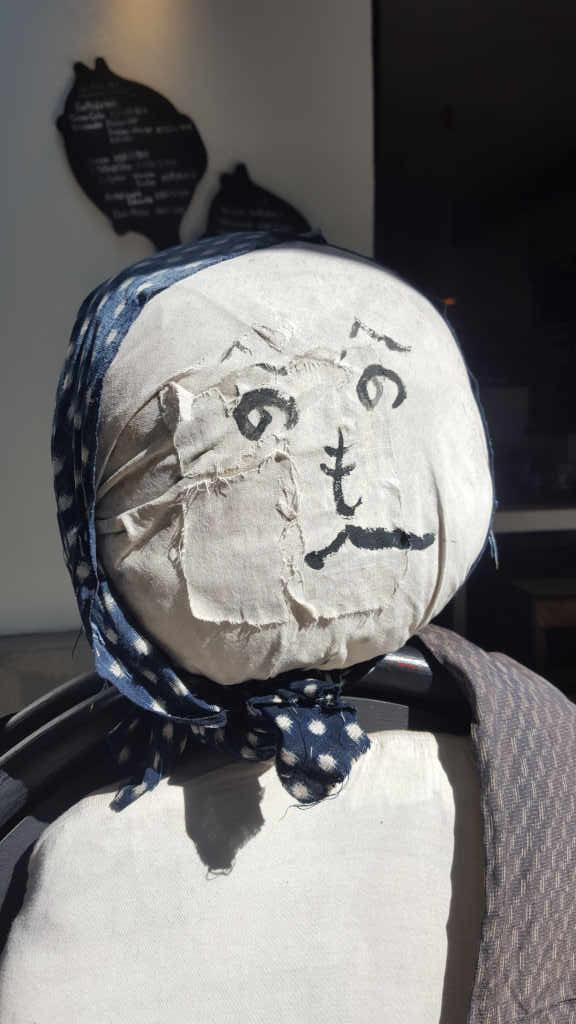 Heno Heno Berlin scarecrow