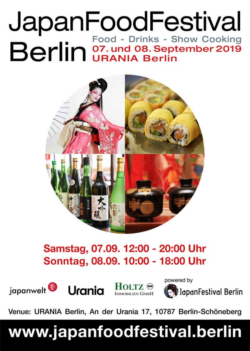 Japan Food Festival Berlin 2019 Plakat