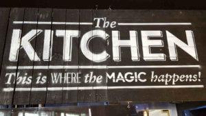 Lily Burger Kitchen - where the magic happens.
